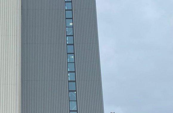 Veevoederfabriek aluminium kozijnen