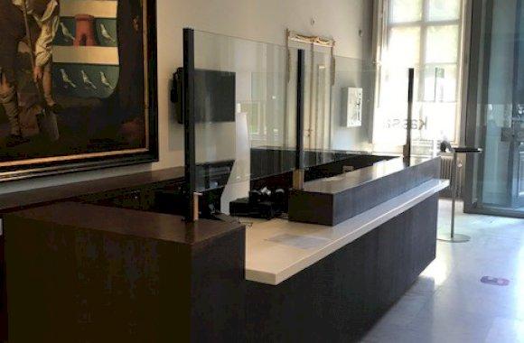 Glazen scherm Noord-Brabants Museum
